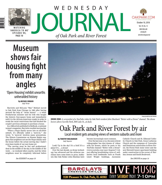 Wednesday Journal 101018 by Wednesday Journal - issuu