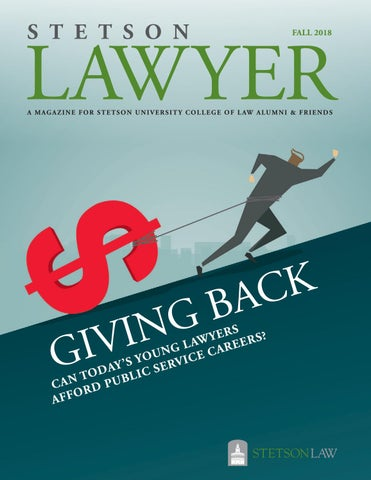 8ad22a7448cf9 Stetson Lawyer  Fall 2018 by Stetson University College of Law - issuu