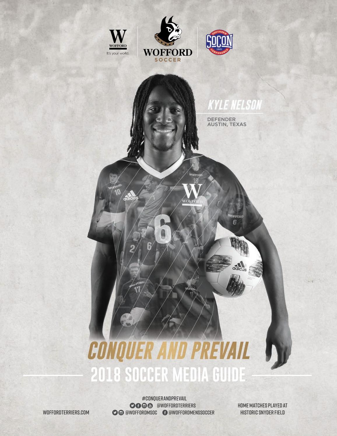 324440a123 2018 Wofford Men's Soccer Media Guide by Wofford Athletics - issuu