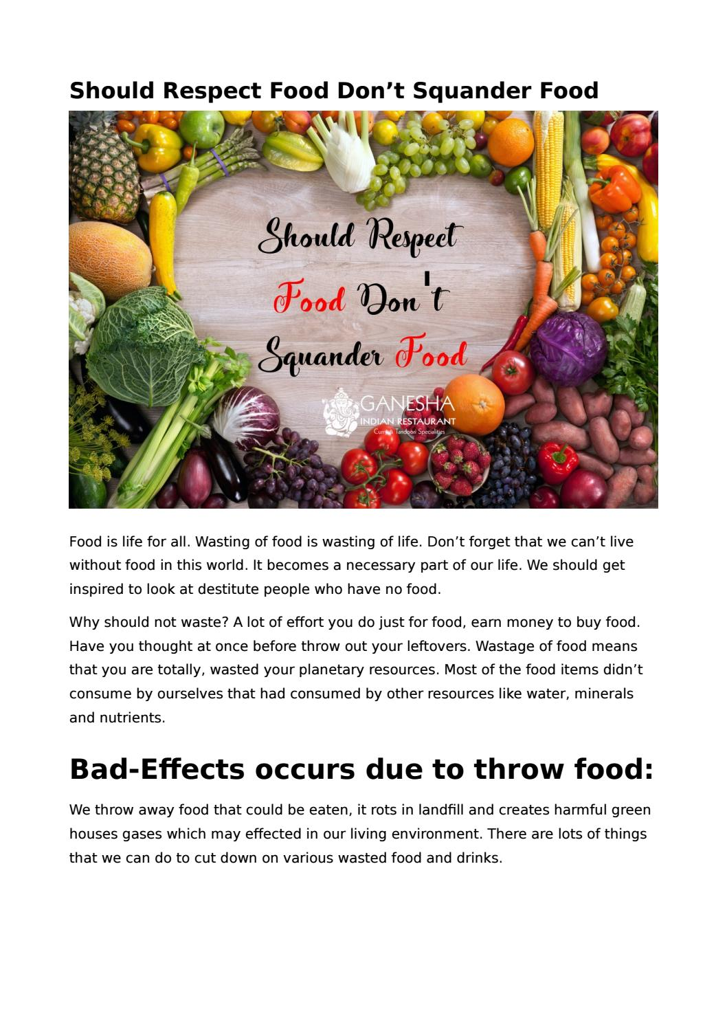 Throw Out The Diet, NOT The Food!