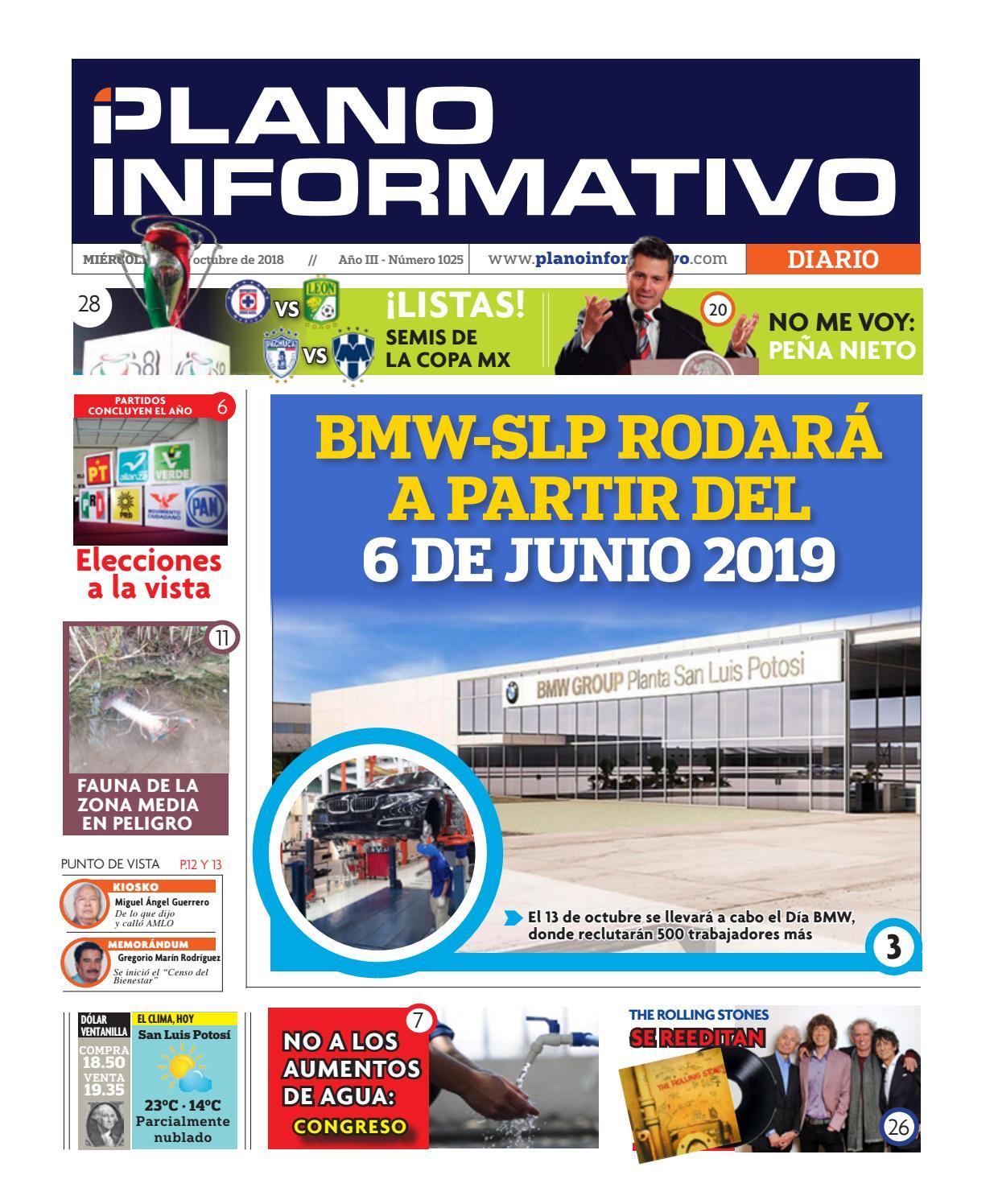 Plano Informativo Impreso Año 3 No. 1025 by Plano Informativo - issuu 3dc2fd33ae853