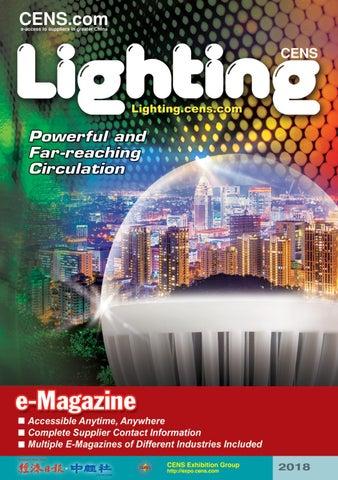 Cens Lighting 2018 By