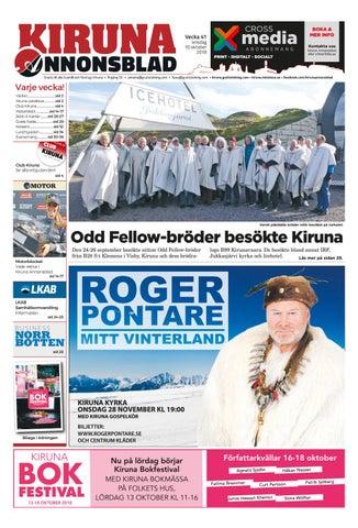 new style e10cf 968de Kiruna Annonsblad vecka 41, 2018 by Svenska Civildatalogerna AB - issuu
