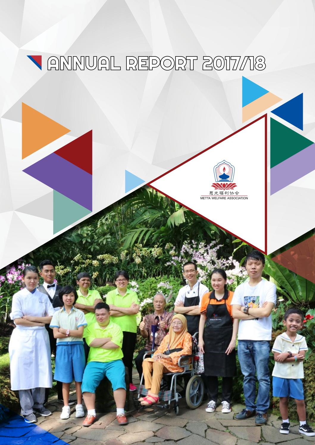 Metta Welfare Association | Annual Report 2017/18 by Metta