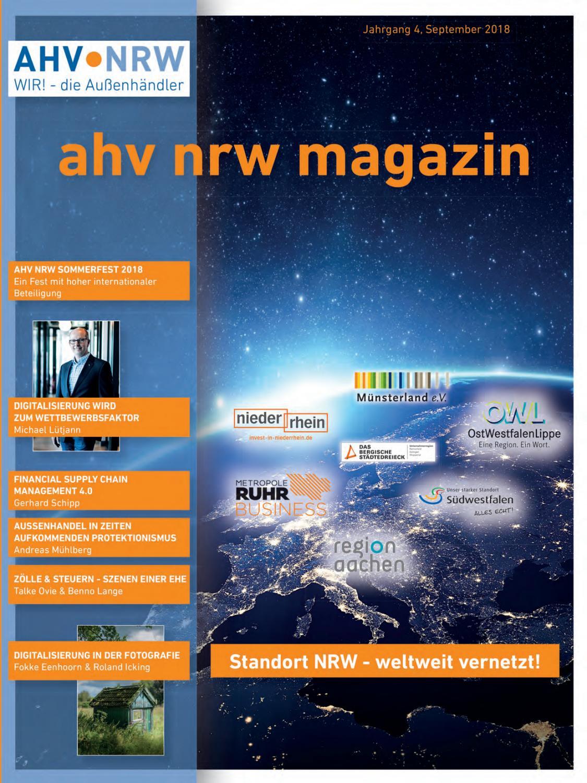2e7a073950ad13 AHV NRW Magazin 2018 by AHV NRW Magazin - issuu