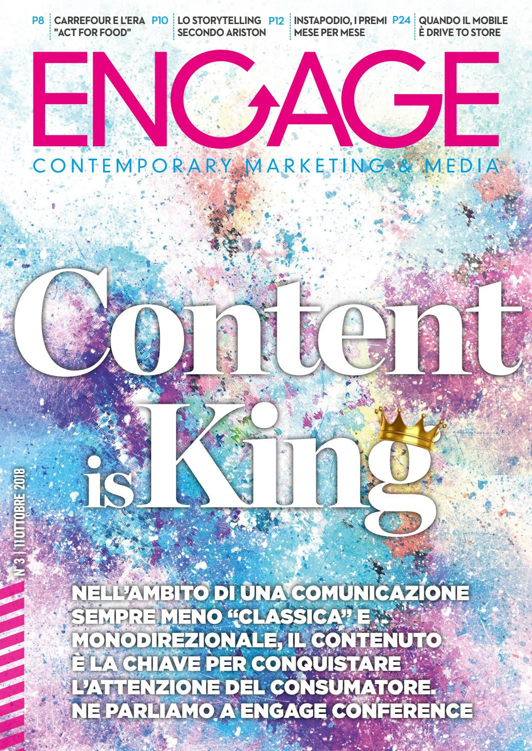 b0ca49e464 Engage - Contemporary marketing & media n.3 del 2018 by Engage - issuu