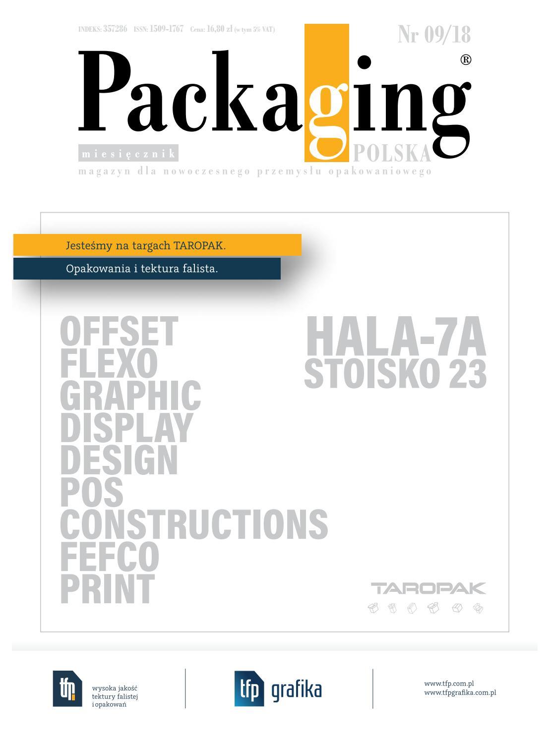 1085966be2b9f6 Packaging Polska 09/2018 by Redakcja EMG - issuu