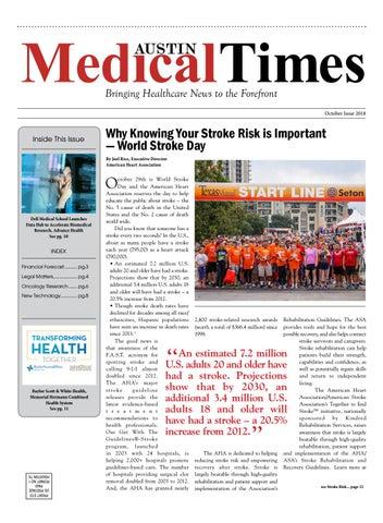 Austin Medical Times - October 2018 by Rick Delarosa - issuu