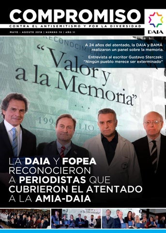 Revista Compromiso n°70 by DAIA - issuu