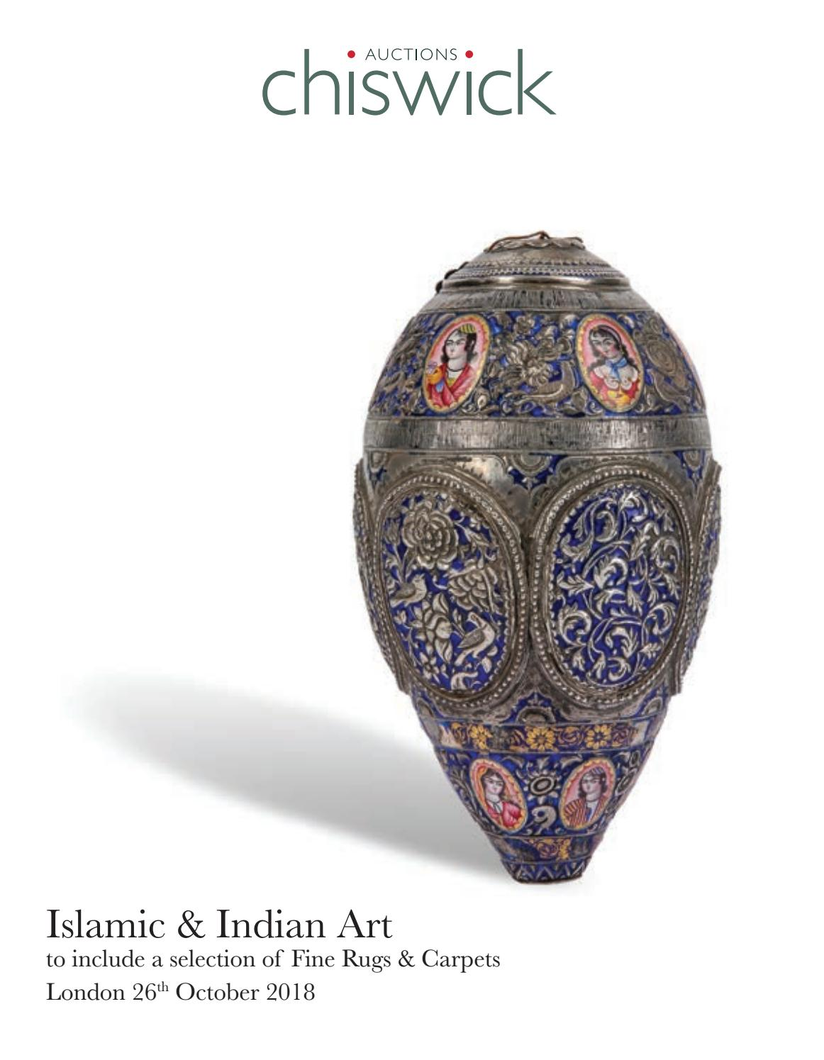 Chiswick Auctions Islamic and Indian Art October 2018