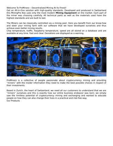 mining hardware cryptocurrency