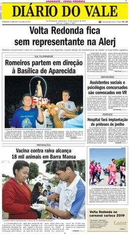 8859 - Diario - Quarta-feira - 10.10.2018 by Diário do Vale - issuu bcd12a6111b3d