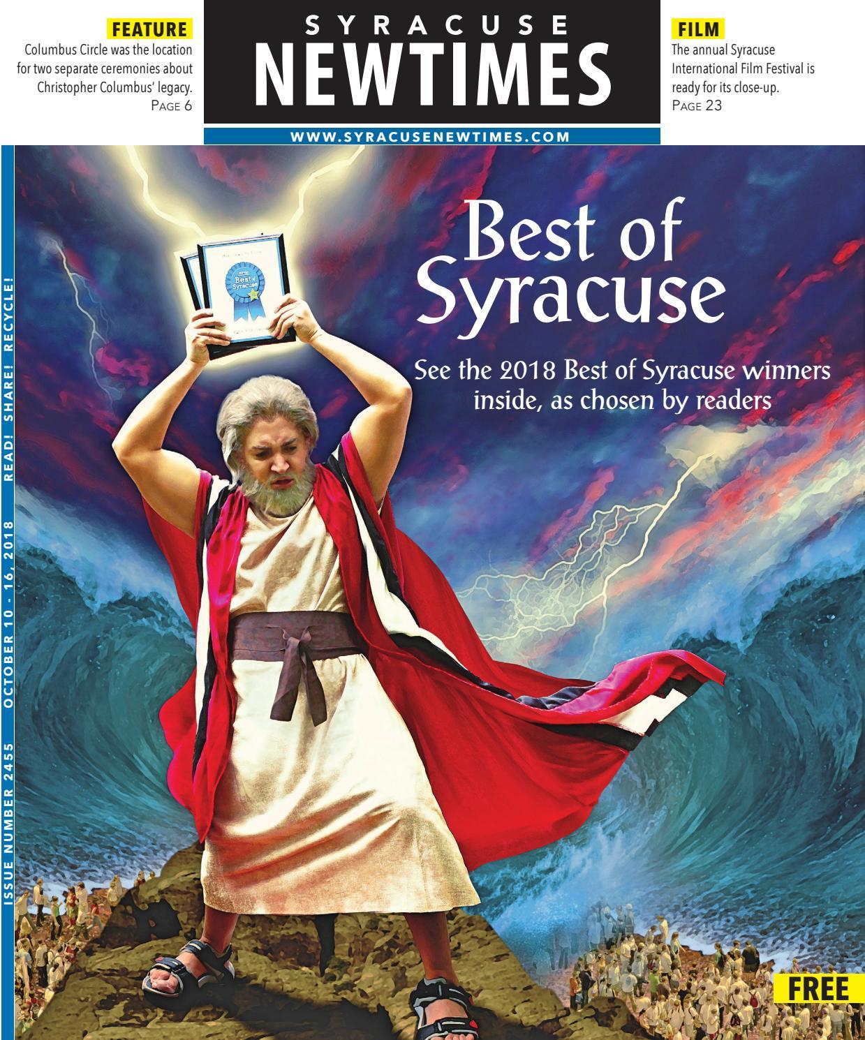 Syracuse New Times 10-10-18
