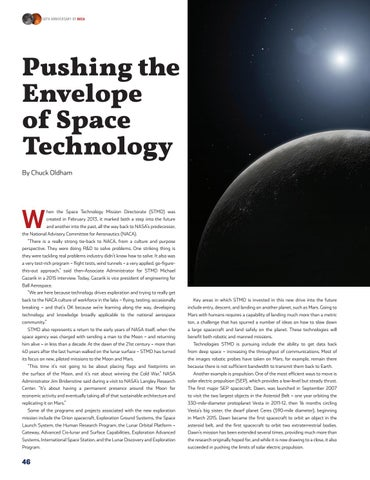 Page 50 of Pushing the Envelope of Space Technology