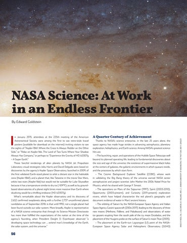 Page 60 of NASA Science: At Work in an Endless Frontier