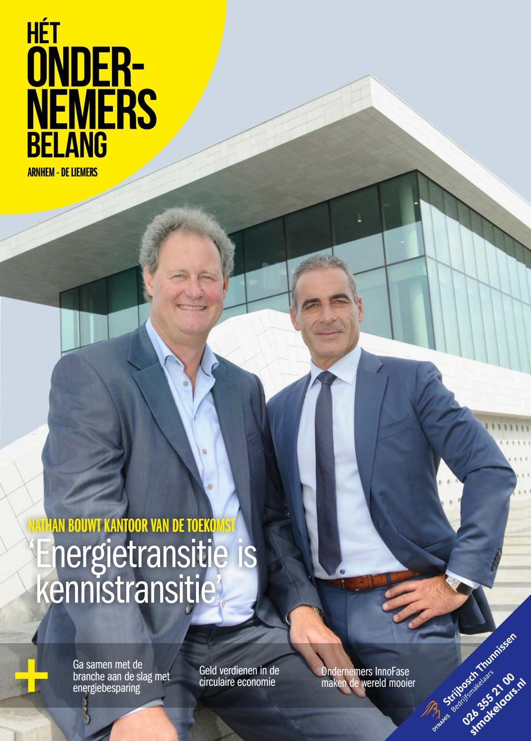 f42766e5b1378b Het Ondernemersbelang Arnhem-de Liemers 3-2018 by Uitgeverij Novema - issuu