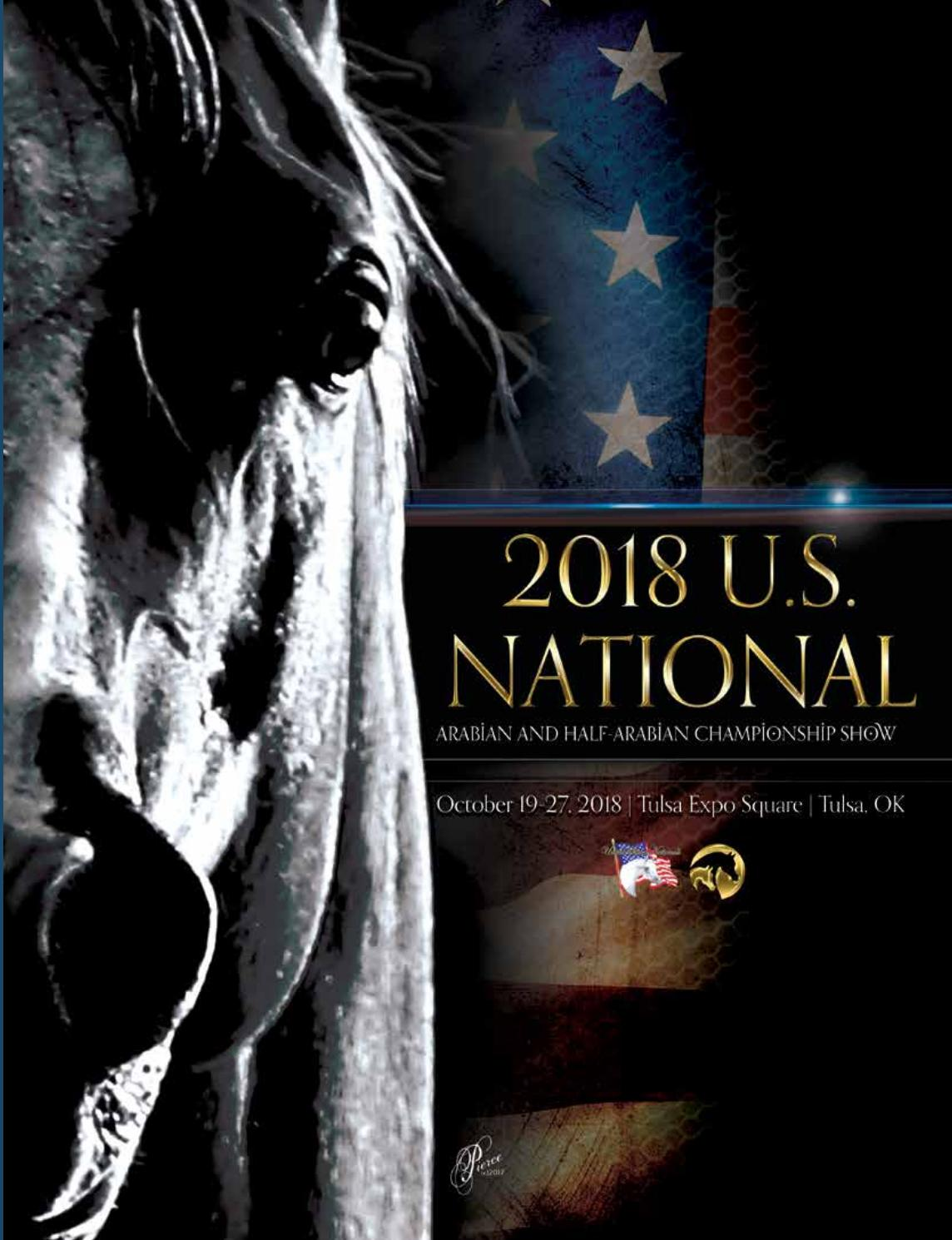 2018 US Nationals Program by Arabian Horse Association - issuu