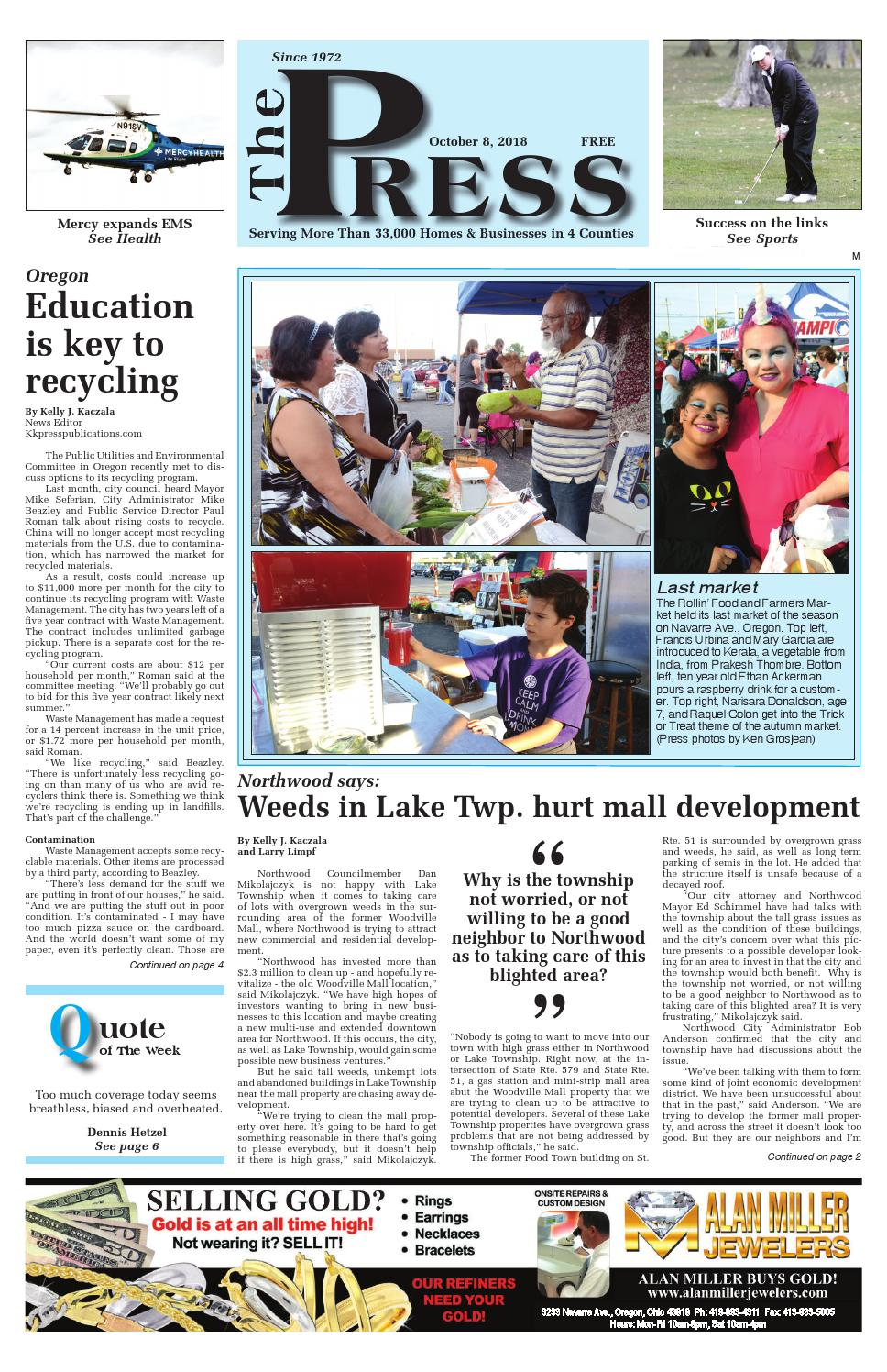 42dcf0811 Suburban Edition 10/8/18 by Press Publications - issuu