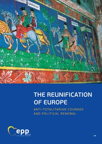 The Reunification Of Europe 4th Edition By Epp Group In The