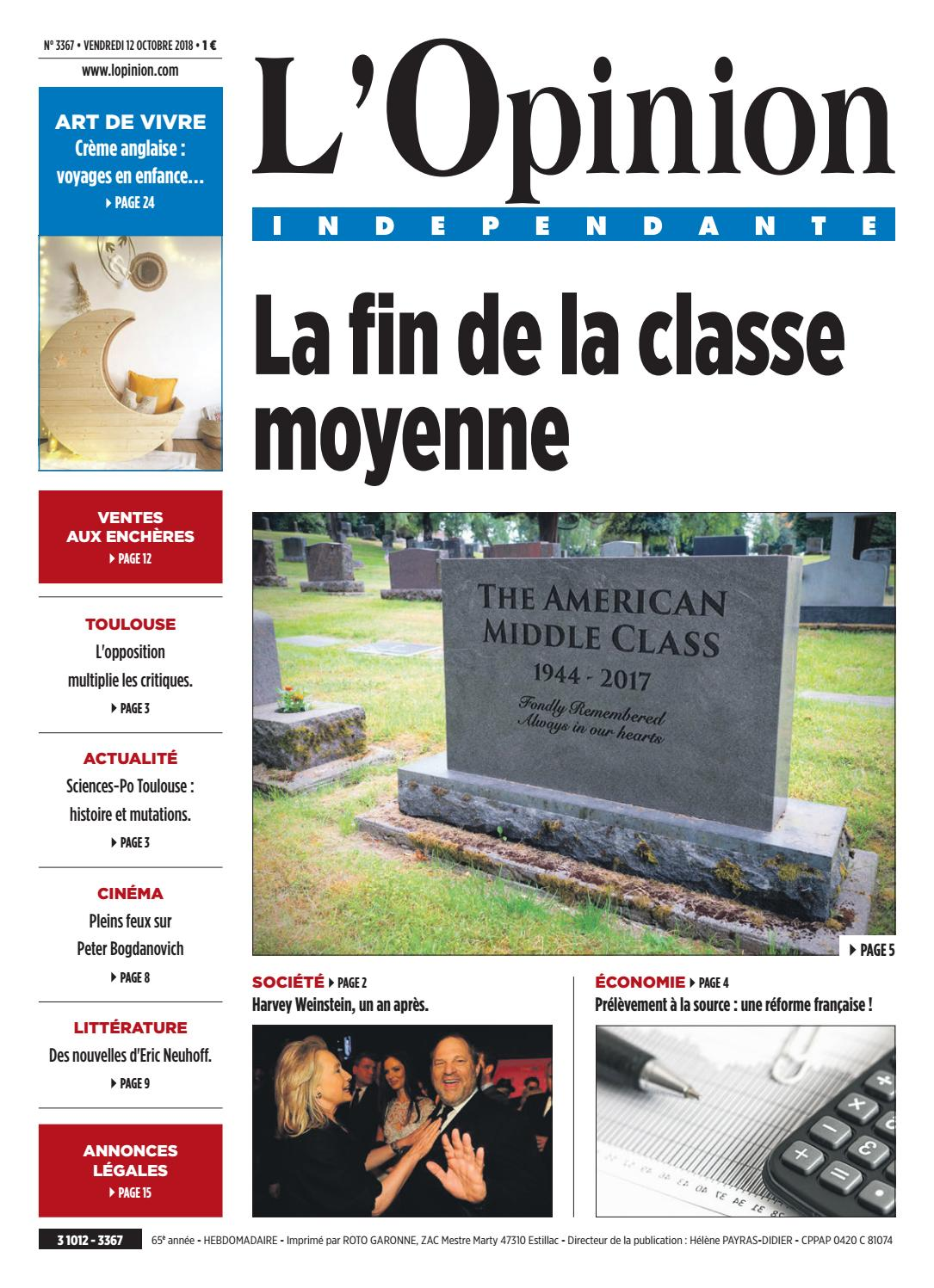 Jardinerie Pas Cher Toulouse 3367l'opinion indépendante - issuu
