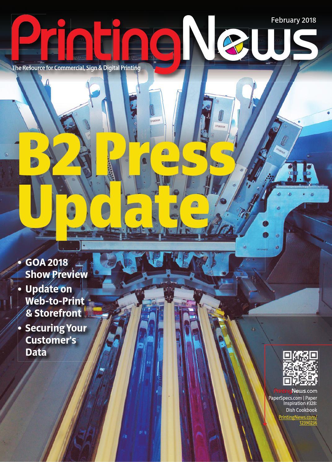 Printing News - February 2018 by WhatTheyThink - issuu
