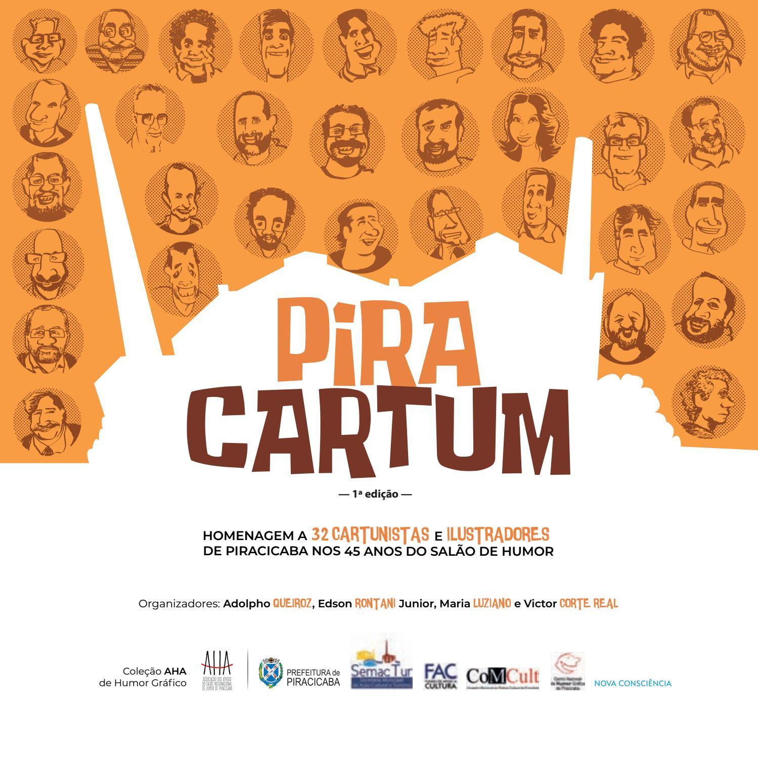 Livro Piracartum by Salão Internacional de Humor de Piracicaba - issuu b5dba83f5081d
