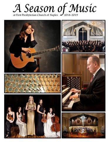 A Season of Music Concert Series 2018-2019 by First Presbyterian