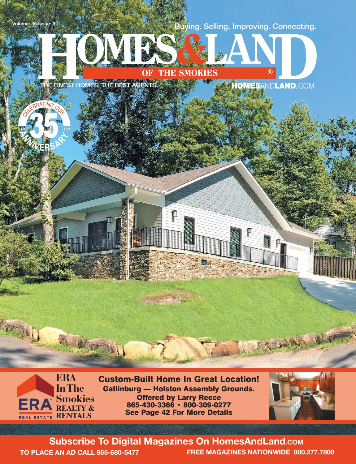 Homes Land Of The Smokies Vol 35 Issue 9 By Homes Land Of Tennessee Issuu