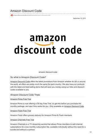 amazon prime membership fee discount code