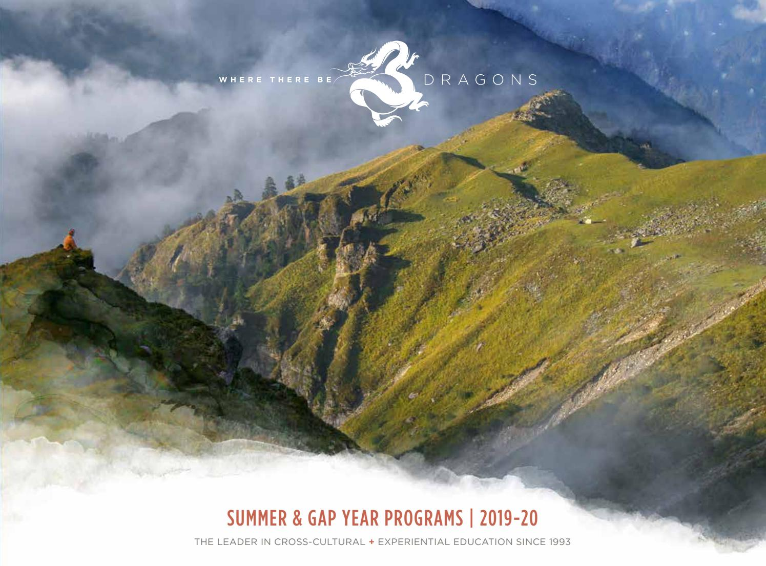 Dragons 2019 Catalog  Summer   Gap Year Programs by Where There Be Dragons  (International Experiential Education) - issuu c5d1a5eebc1
