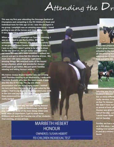 Page 16 of Attending the Dressage Festival of Champions