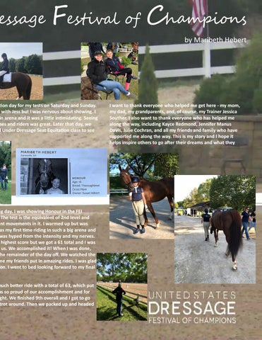 Page 17 of Attending the Dressage Festival of Champions