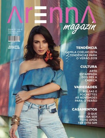 e6f665f7901e52 Revista Arenna | Edição 22 | Primavera Verão by Editora Três Regiões ...