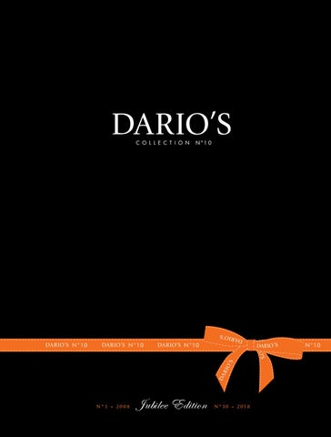 349e64571a848 DARIO S BOOK N°10 - Jubilee Edition by DARIO S e-Boutique - issuu