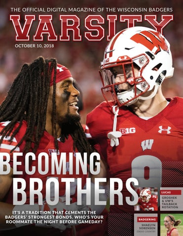 Varsity Magazine November 7 2018 By Wisconsin Badgers Issuu