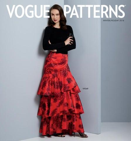 Vogue Patterns Winter Holiday 2018 Lookbook