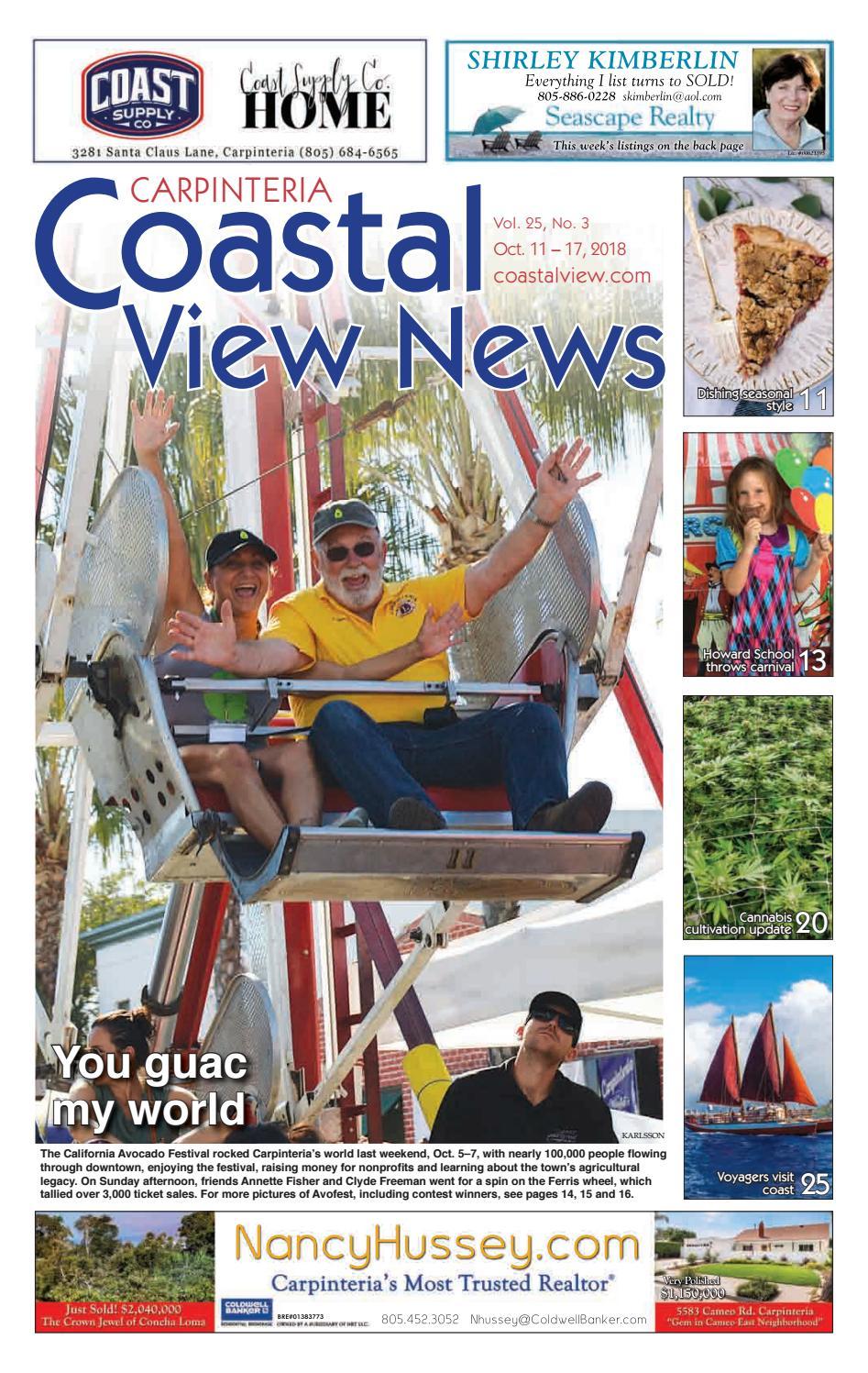 Coastal View News October 11 2018 By Issuu Tas Ransel Grand Polo T011 Gray