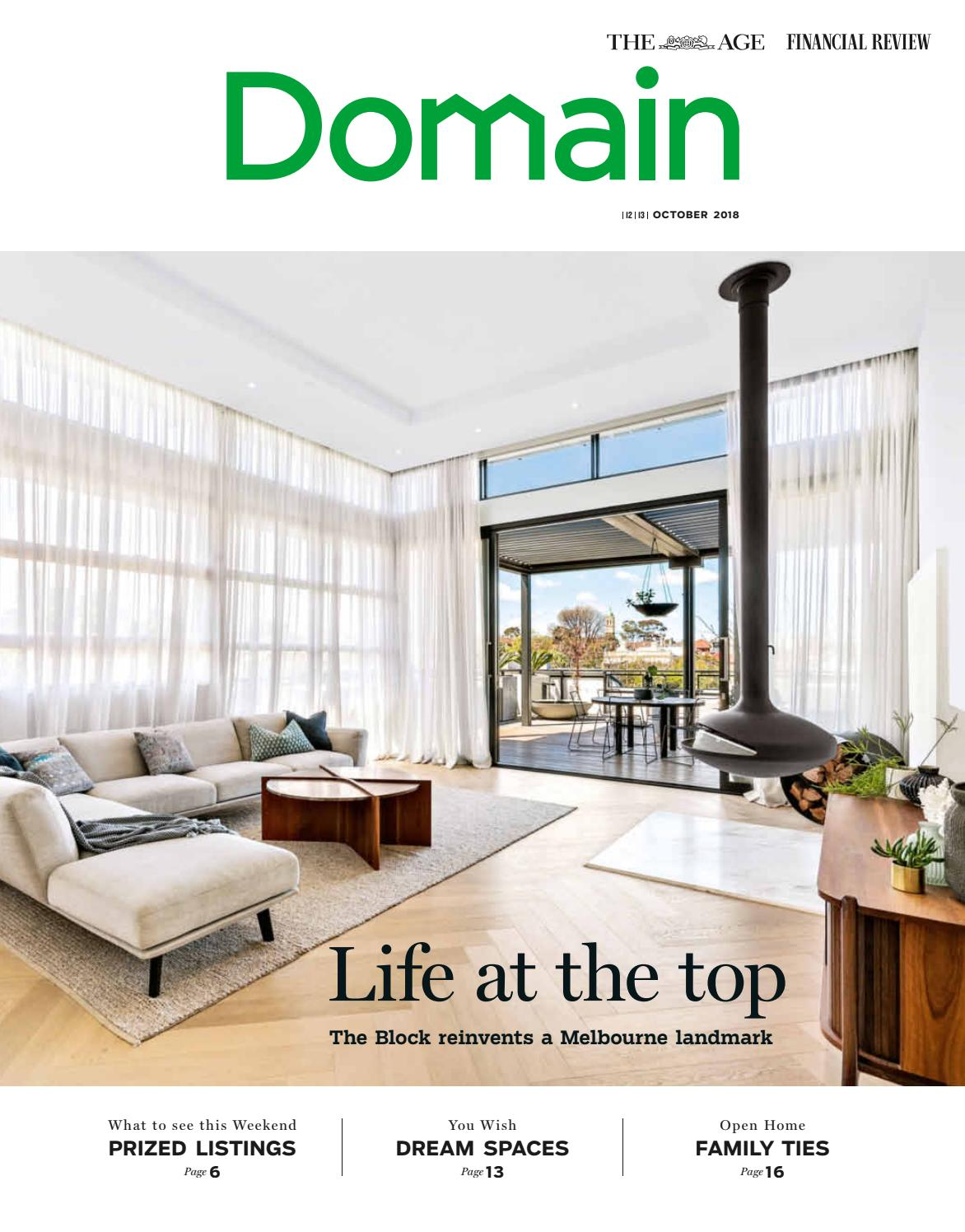 Cc Designer Homes Pty Ltd Bulleen Vic Designer Houses Domain - The Age, October 12-13 By Domain Magazines - Issuu