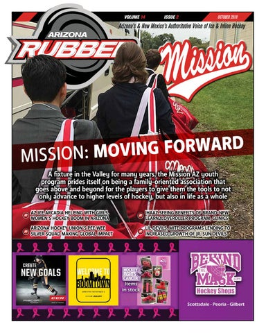Arizona Rubber Magazine - October 2018 by Rubber Hockey Magazines