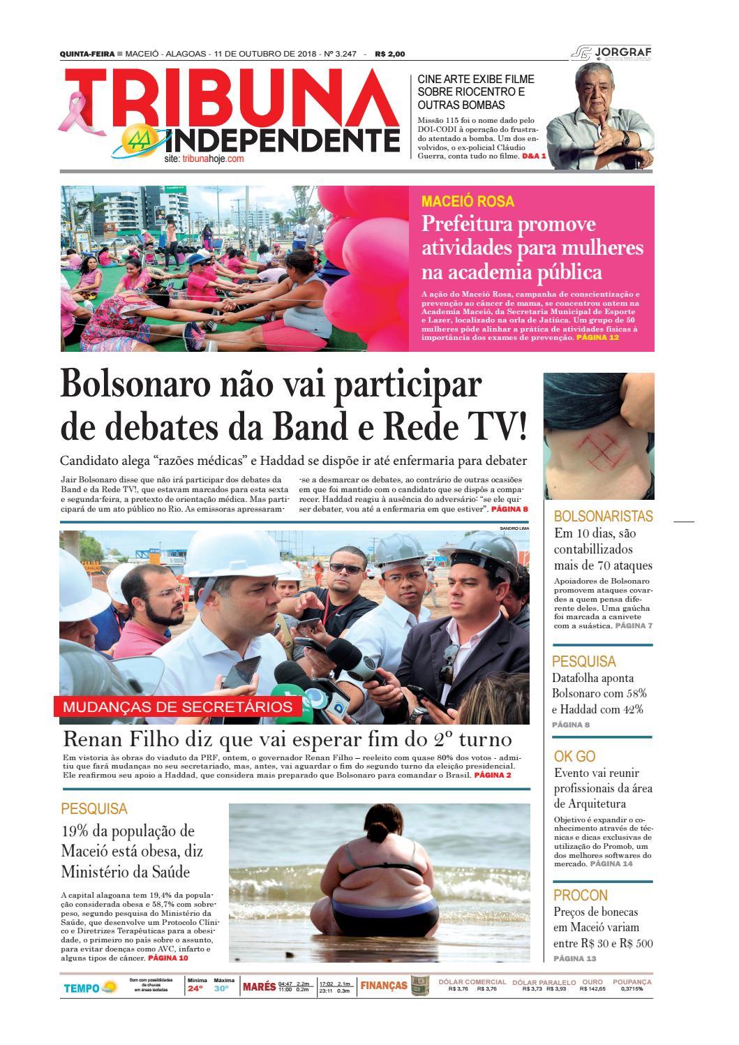 62a9ba19a Edição número 3247 - 11 de outubro de 2018 by Tribuna Hoje - issuu