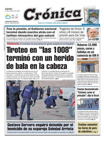 Diario cronica 11 10 2018 by Diario Crónica - issuu 4341414a82