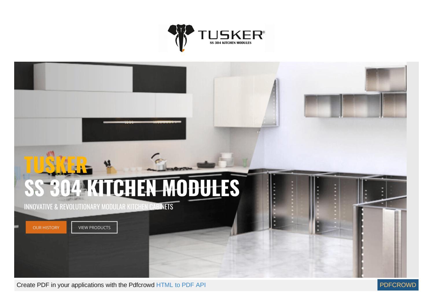 Charmant Tusker India | Modern Kitchen Cabinets | Modular Kitchen In ...