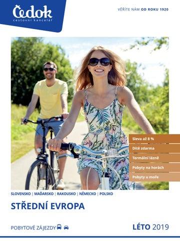 Čedok  Střední Evropa - Léto 2019 by CK Čedok a.s. - issuu 907257f11c