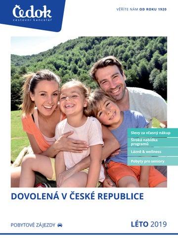 27cae4c6455 Čedok  Česká republika - Léto 2019 by CK Čedok a.s. - issuu