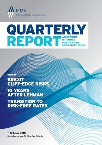ICMA Quarterly Report Fourth Quarter 2018 by ICMA - issuu
