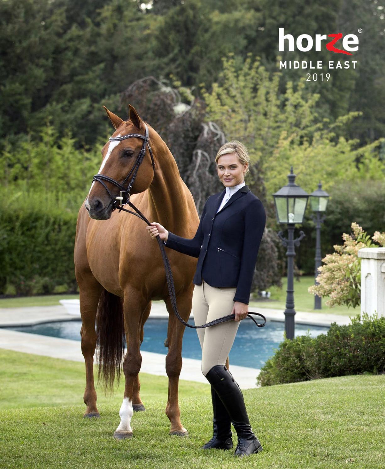 Non Rub Chafe Horze All Purpose Breathable Nylon Neoprene Horse Riding Girth