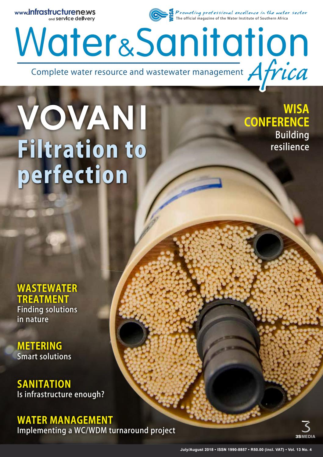 Water & Sanitation Africa July/August 2018 by 3S Media - issuu