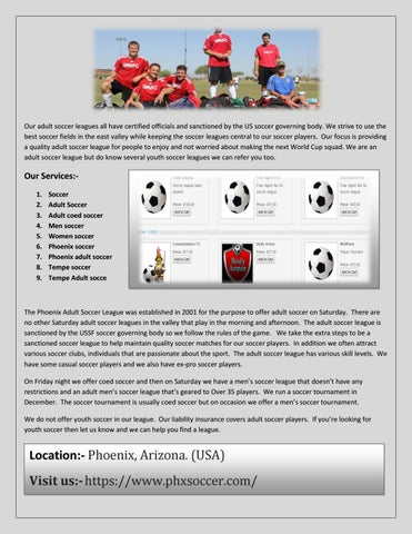 Adult coed soccer by merry kelson - issuu