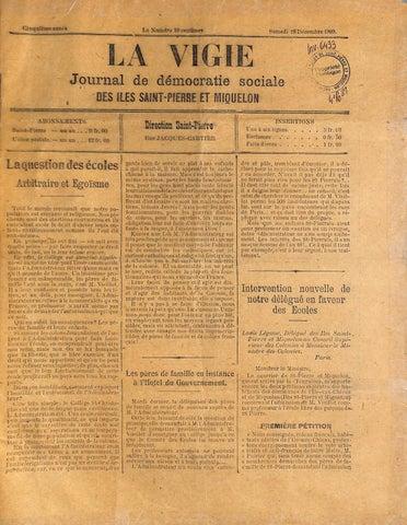 1909 12 18 By L Arche Musee Et Archives Saint Pierre Et Miquelon Issuu