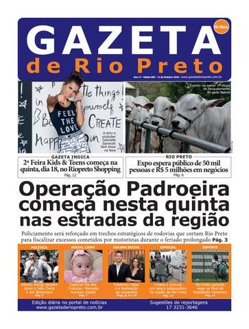 Gazeta de Rio Preto - 11 10 2018 by Social Light - issuu ca7ceda8ac6